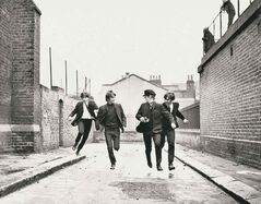 Richard Lester's 1964 film A Hard Day's Night avoided the pitfalls of placing musicians on the big screen by channeling the Beatles' humour and charm, and allowing them to improvise many of their lines.