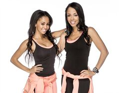 Vanessa Morgan (left) and Celina Mziray are shown in a 2013 handout photo. THE CANADIAN PRESS/HO, BellMedia