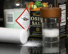Assorted salts are shown in a 2006 file photo. Hypertension Canada has raised the recommended amount of daily sodium intake to 2,000 milligrams, the equivalent of roughly one teaspoon of salt. THE CANADIAN PRESS/AP-Larry Crowe