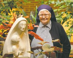 Sister Cyril Mooney will speak about her work at a free public lecture at St. Paul's College on June 11.