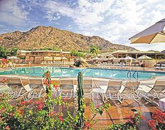 The Jack Rabbit pool at the JW Marriott Camelback Inn Resort & Spa.