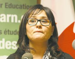 Tory minister Leona Aglukkaq says Chief Theresa Spence must meet with the aboriginal affairs minister.