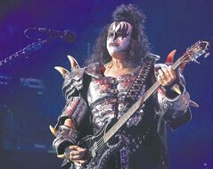 Gene Simmons has anchored Kiss's changing lineup for 40 years.