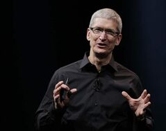 Tim Cook: 'working non-stop'