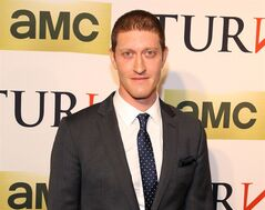 Actor Samuel Roukin, who plays John Graves Simcoe on AMC's