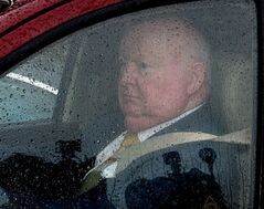 Conservative Senator Mike Duffy leaves Parliament Hill, in Ottawa, Thursday June 6, 2013.THE CANADIAN PRESS/Fred Chartrand