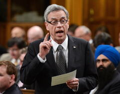 Minister of Finance Joe Oliver
