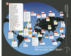 Luxalune's beer menu proves the Fort Rouge restaurant truly boasts an international flavour.