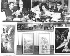 Visitors take in the display at the first Filipino Folklorama pavilion in 1970. The Winnipeg Filipino community now numbers close to 60,000.
