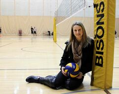 Women's volleyball setter Brittany Habing was named the Bison Sports Female Athlete of the Year.