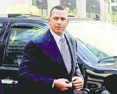 Alex Rodriguez will be donnning his court clothes again, if he gets his way.