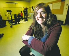 Danielle Koop spends time with inner-city kids in a mentor program at the U of M.