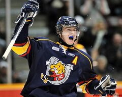 With 13 goals and 36 points in 19 games, Jets' No. 1 pick Mark Scheifele has helped the Barrie Colts to first place in the OHL's Central Division.