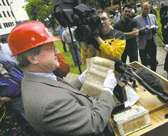 PHIL HOSSACK / WINNIPEG FREE PRESS ARCHIVES