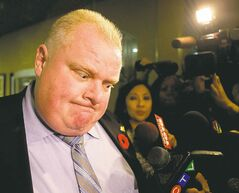 Toronto Mayor Rob Ford called the video (below) 'extremely embarrassing' but said he was very drunk at the time.