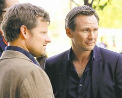 Steve Zahn (left) and Christian Slater star as brothers in Mind Games.