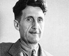 FILE - This undated file photo shows writer George Orwell, author of