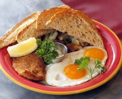 Pickerel with eggs.