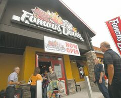 Customers packed the first Famous Dave's restaurant in Canada when it opened in Winnipeg last July at Reenders Drive and Lagimodiere Boulevard.