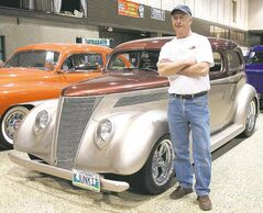 Jim McNeill says all the time he spent in the garage restoring his 1937 Ford helped him recover from non-Hodgkins lymphoma.