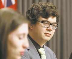 Andrew Jones, premier of the youth parliament, says education will be a prevalent theme of debates and bills.
