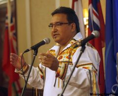 MKO Grand Chief David Harper.