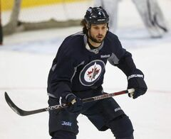 Winnipeg Jets defenceman Zach Bogosian