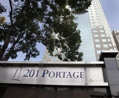 The former Canwest Place was rechristened 201 Portage on Monday.