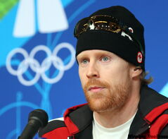 Manitoba's Jon Montgomery won on the same track just over a year ago.