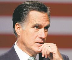 'I'm a very different person than I was in high school, of course,' Romney says.
