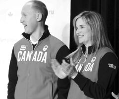 Olympic qualifiers  Brad Jacobs and Jennifer Jones will be teammates at next month's Continental Cup in Las Vegas.
