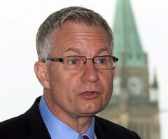 International Trade Minister Ed Fast speaks in Ottawa on May 14, 2014. THE CANADIAN PRESS/Fred Chartrand