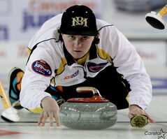 Matt Dunstone is ready to represent Canada at the world junior curling championships.