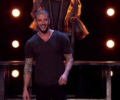 Winnipeg illusionist Darcy Oake is seen Monday night on Britain's Got Talent