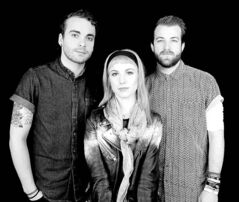 From left, Taylor York, Hayley Williams and Jeremy Davis