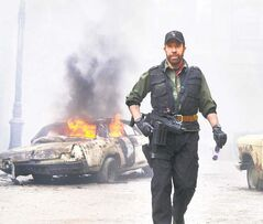 Chuck Norris joins the Expendables.