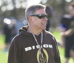 Bisons coach Brian Dobie hopes to rekindle the Vanier-winning culture in the new stadium.