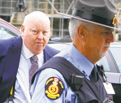 Sen. Mike Duffy now faces allegations of fraud and breach of trust stemming from an RCMP probe.