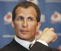Tony Granato attends a news conference in Denver, Colo., May 22, 2008. The Detroit Red Wings have hired Granato as an assistant coach.(AP Photo/David Zalubowski, File)