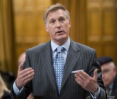 Conservative MP Maxime Bernier rises during question period in the House of Commons Tuesday March 19, 2013 in Ottawa. THE CANADIAN PRESS/Adrian Wyld