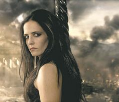 Eva Green as Artemisia.