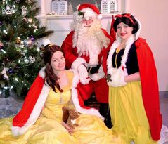 Heather Oliphant (far right) is the owner of Heather's Pretty Parties, which presents its Princess Perfect Christmas on Saturday, Dec. 21 at The Creative Stage Emporium (17 Muir Rd.).