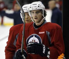 The Winnipeg Jets have sent Julian Melchiori back to St. John's.