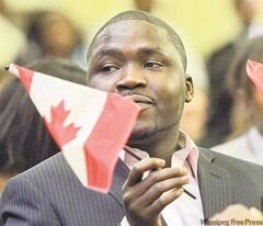 Chetima Mamadou Mai Moussa is among many newcomers to Manitoba.
