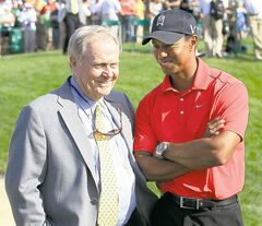 Jack Nicklaus says he has no problem with the two-stroke penalty assessed to Tiger Woods  at the Masters earlier this month.