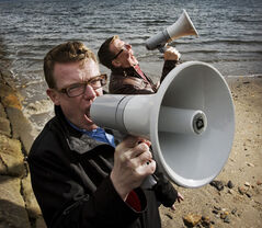 The Proclaimers: Craig and Charlie Reid.