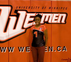 Aaliyah Masepela is the latest recruit for the University of Winnipeg women's volleyball team.