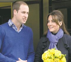 Prince William takes Kate, Duchess of Cambridge, home Thursday after she was admitted to hospital suffering from severe morning sickness.