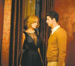 Nicole Kidman and Matthew Goode face off in Stoker.