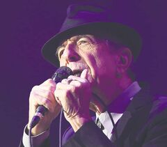 Leonard Cohen performs at the MTS Centre on Friday.